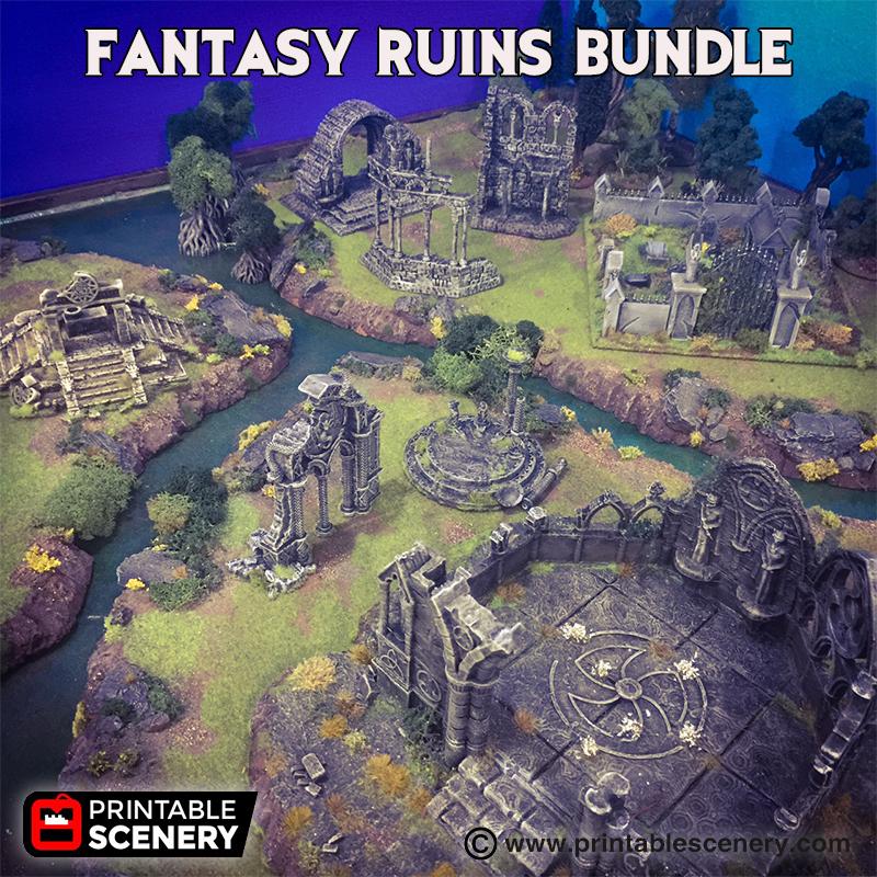 Fantasy Ruins Bundle