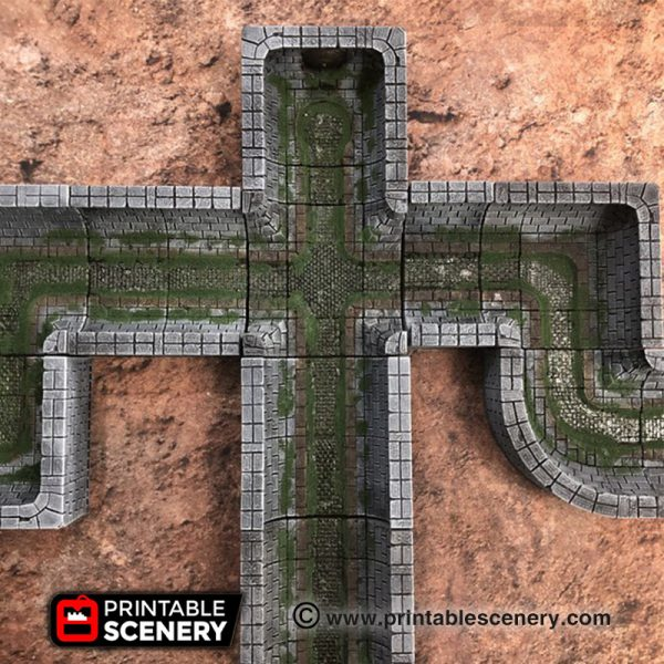 3d print comined sewer OpenLOCK RPG