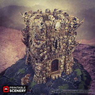 The Necromancer Tower Printable