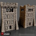 Rampage Castle Parts Assembly For Large Square Tower