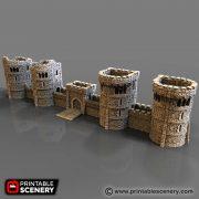 Rampage Castle Printable