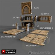 The Rampage Castle Printable