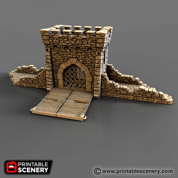 Rampage Pre Configured Castle Printable