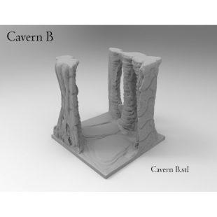 Dungeon Caverns - Fast Print