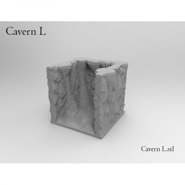 Dungeon Caverns - Fast Print