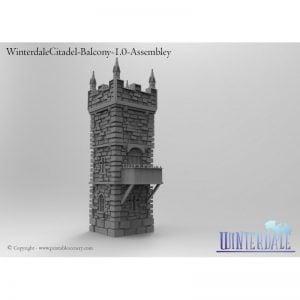 Citadel balcony attachment