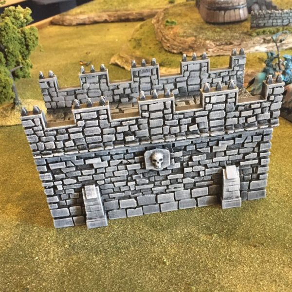 War Bridge Castle Wall v3