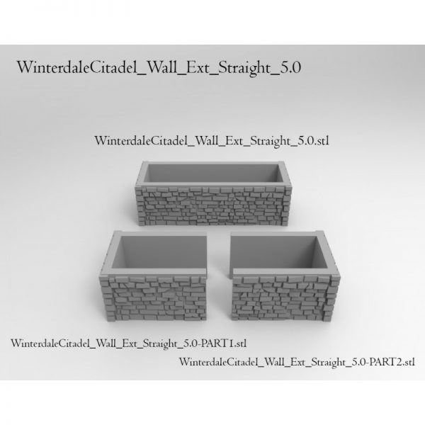 Winterdale Citadel Wall 5.0
