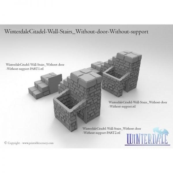 Winterdale Castle Side Stairs