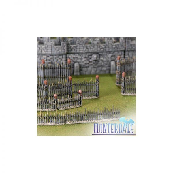 Winterdale Palisade System ---3D MODELING---
