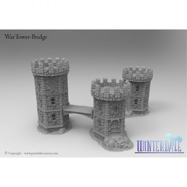 Wartower Stairs and croos Bridge - BETA