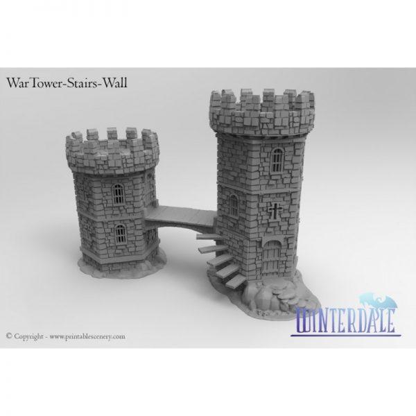 Wartower Stairs and croos Bridge - BETA