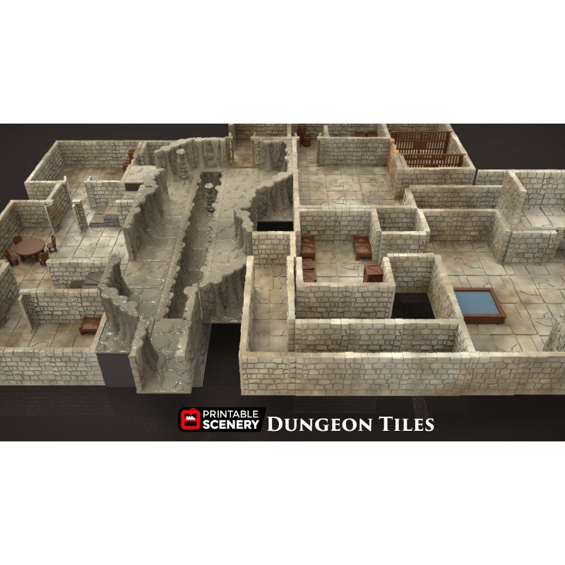 graphic relating to Free Printable Dungeon Tiles referred to as Dungeon Tiles Foundation Established