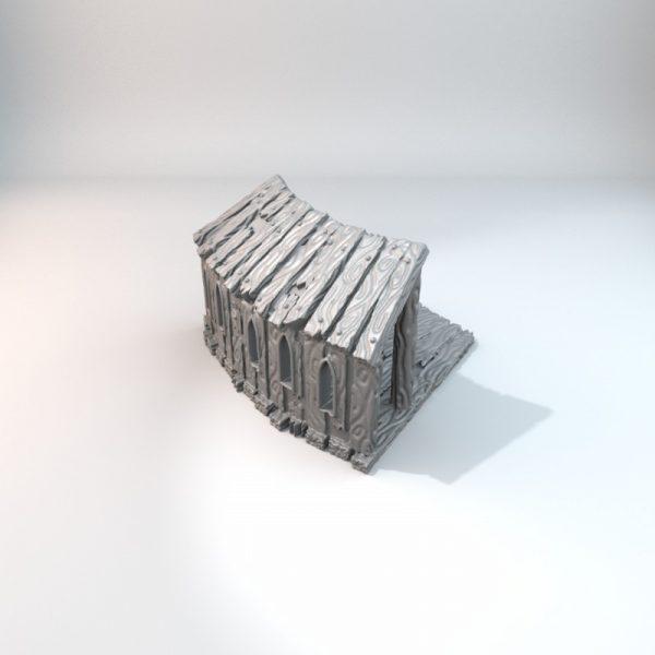 Castle Hoarding