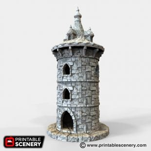 Winterdale Turret Cupola 3d printable