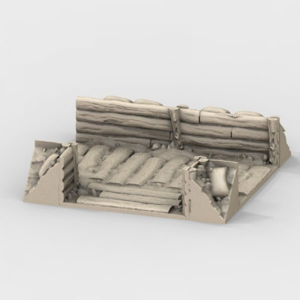 WW2 Trenches