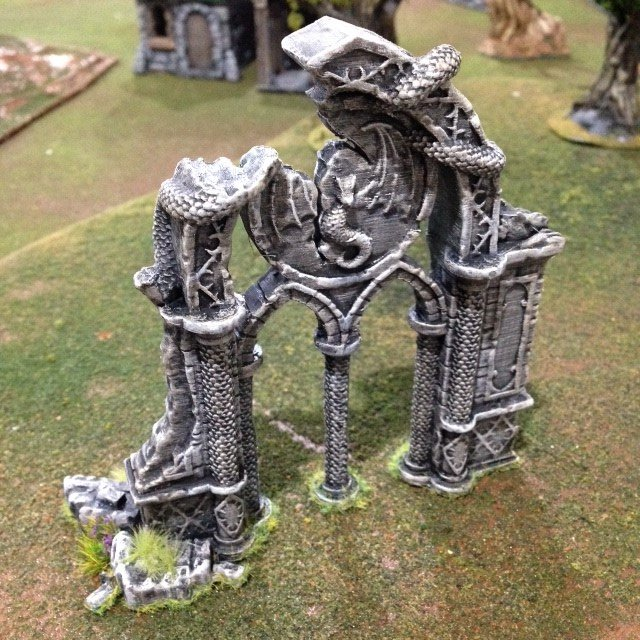 The 3d Printable Dragon Archway