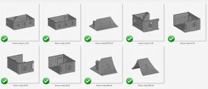 French House Shop 3D printable