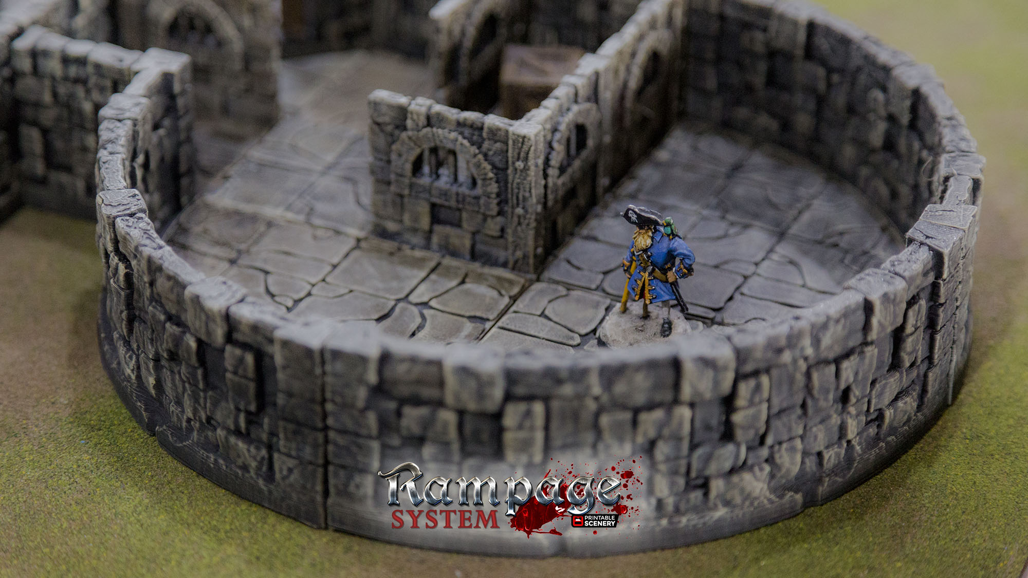 graphic about 3d Printable Dungeon Tiles named 3d-printable-dungeon-tiles - Printable Surroundings