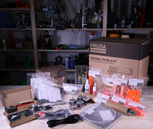 The Prusa i3 has a self-build kit version you can buy.