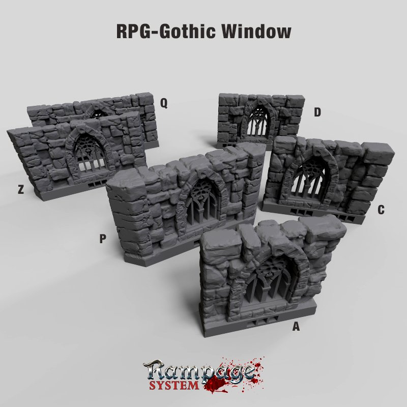 RPG Gothic Window