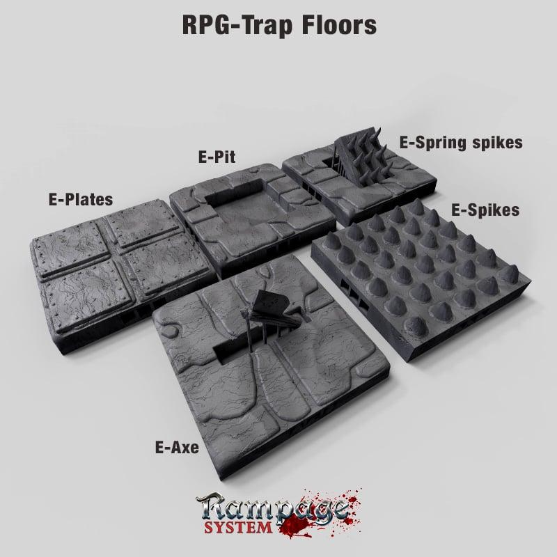RPG-Trap Floors