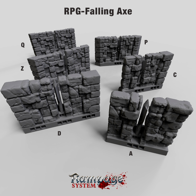 RPG Falling Axe