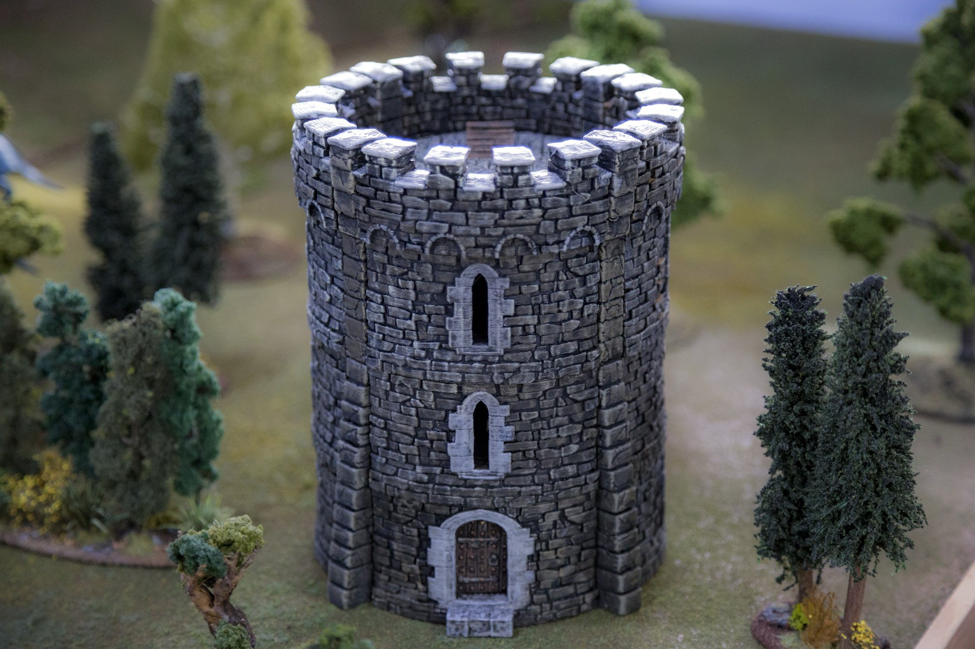 photo about Free Printable Scenery known as Rampage Free of charge Castle Demo Pack -