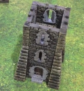 3d printed openlock Rampage tower assembly
