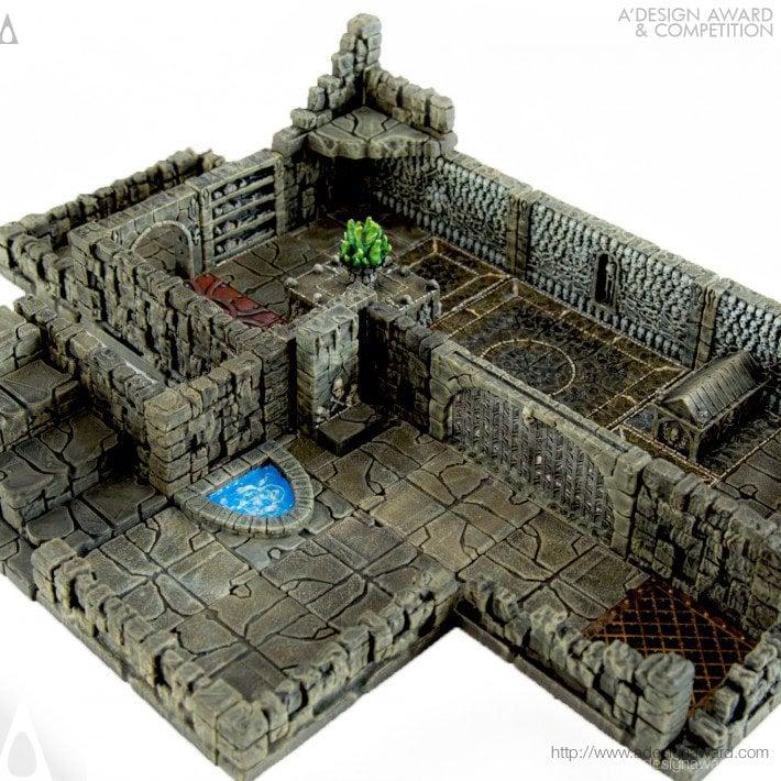 photograph regarding Printable Scenery called Dungeons of Doom - Printable Surroundings