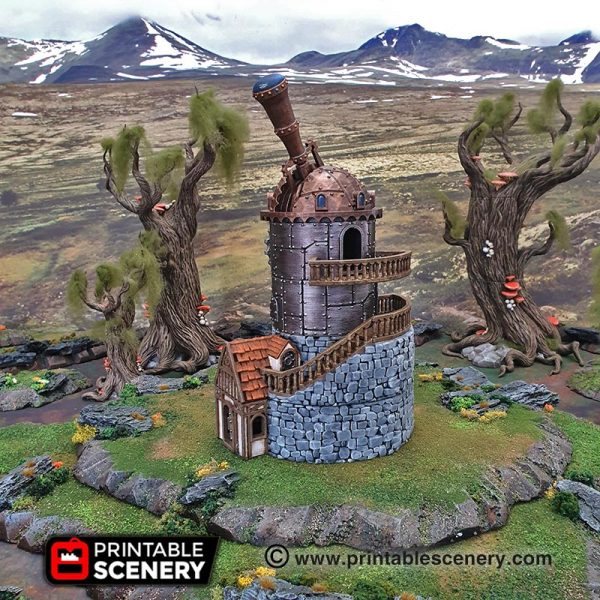 Winterdale Observatory Age of Sigmar Warhammer Frostgrave fantasy 3dprint