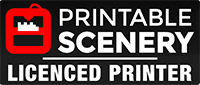 Printable Scenery Licenced Printer