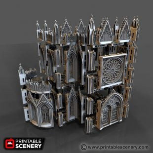 Cathedral Walls Printable