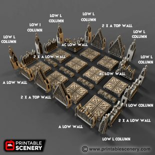 Cathedral Walls Printable