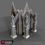 Cathedral Flying Buttress Printable