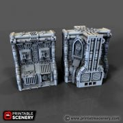Hive Printable designed to be compatible with Games workshop Necromunda