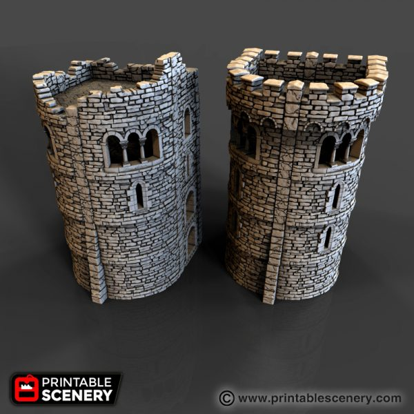 Rampage Castle Printable