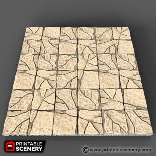 Rough Stone Floor printable