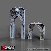 Dwarven Archway Printable