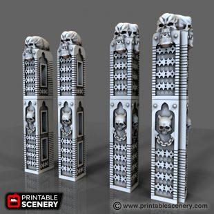 Gothic Columns Printable