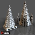Dome Spires Printable