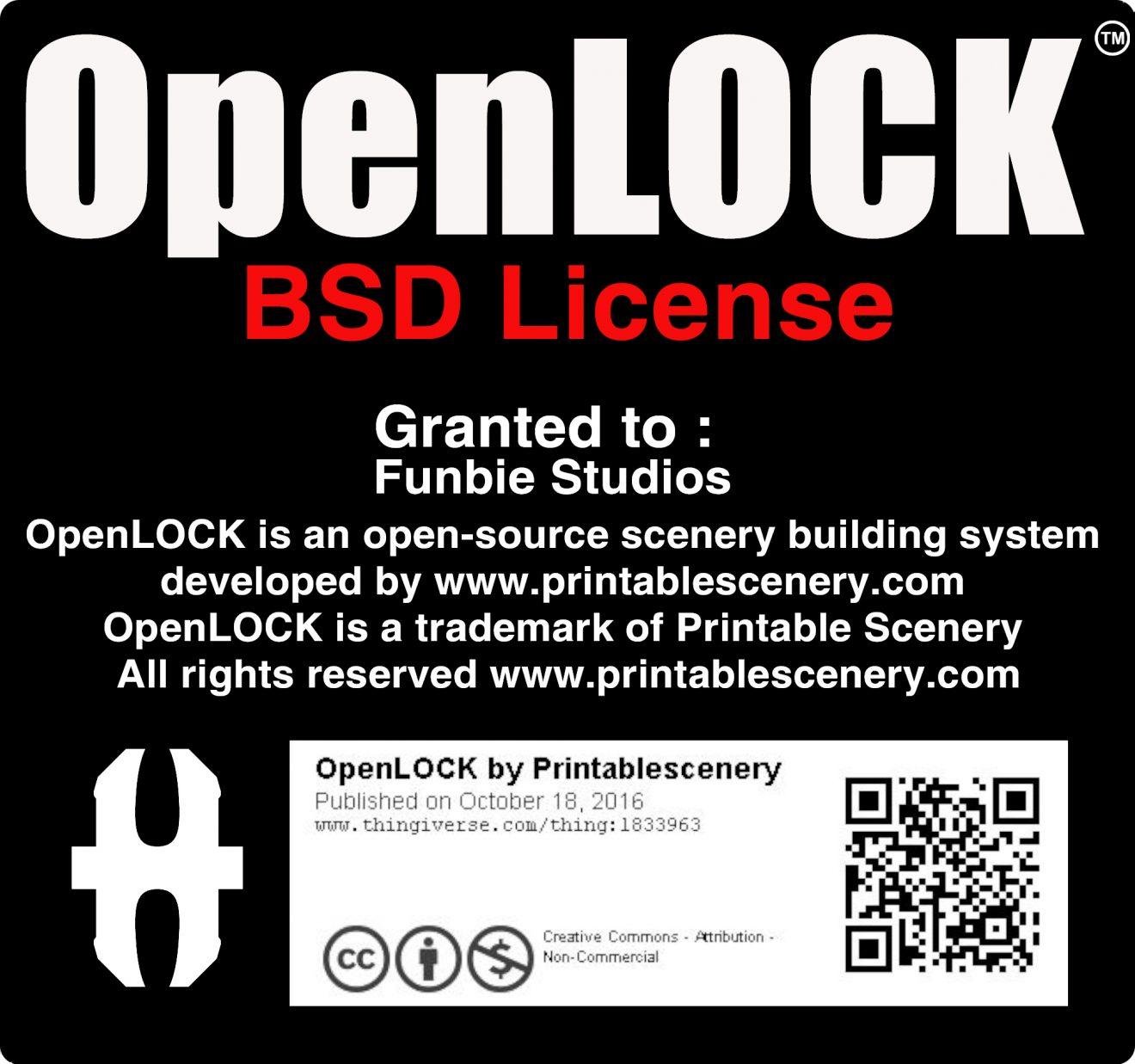 OpenLOCK License - Funbie Studios