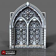 Demon Doors Printable