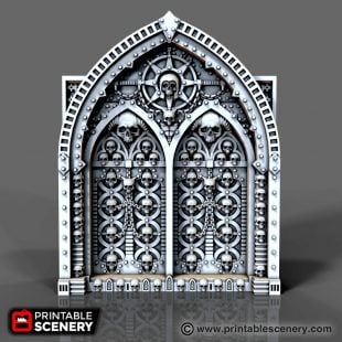 Demon Doors Printable
