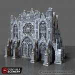 Demon Cathedral Printable