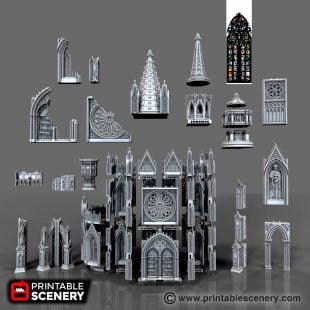 Cathedral Bundle Printable