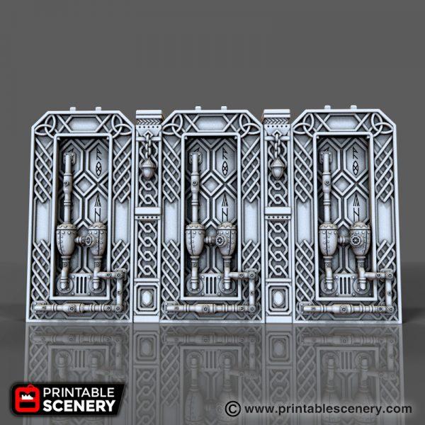 Dwarven Relic Wall Printable