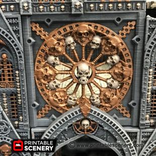 3d print OpenLOCK Demon Rosetta Window