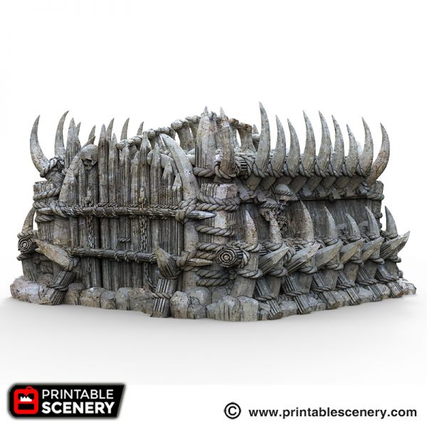 Orc Fort Printable