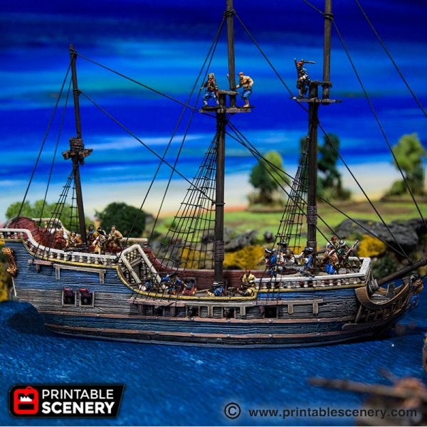 The Frigate Printable